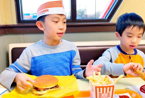 We try Whataburger for the first time in Texas and compare it to In-N-Out Burger in California. Watch video below!